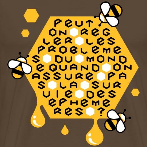 Sauver les abeilles - T-shirt Premium Homme