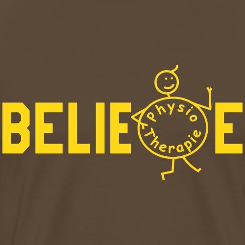BELIEVE Physiotherapie - Männer Premium T-Shirt