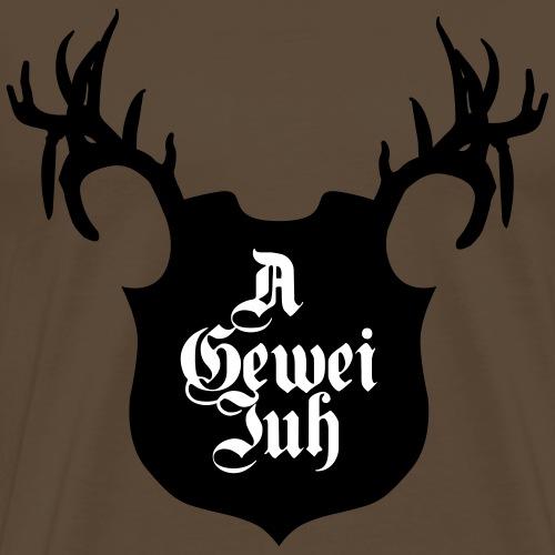 A gewei juh - Mannen Premium T-shirt