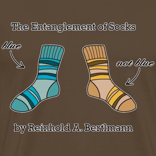 The Entanglement of Socks - Men's Premium T-Shirt