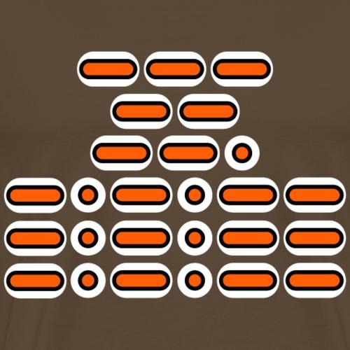 OMG!!! (orange/black/white) - Men's Premium T-Shirt