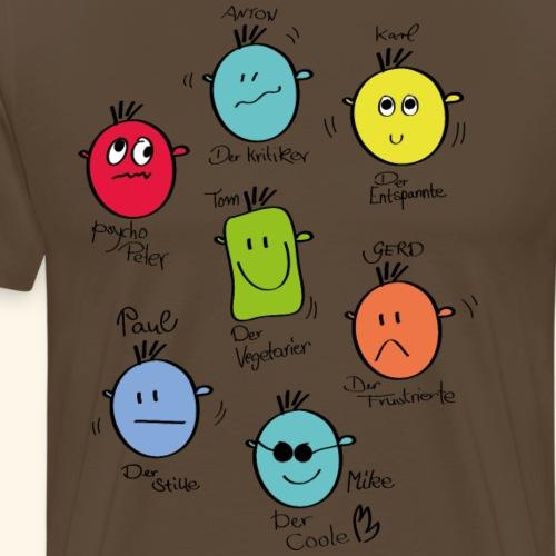 smilies - Männer Premium T-Shirt