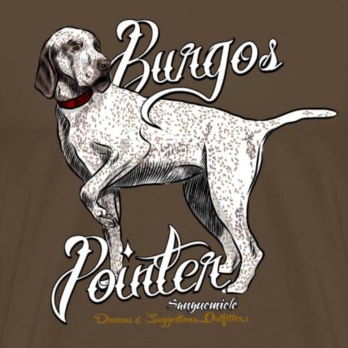 burgos pointer - Maglietta Premium da uomo