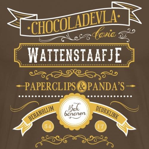 Wattenstaafje - Mannen Premium T-shirt
