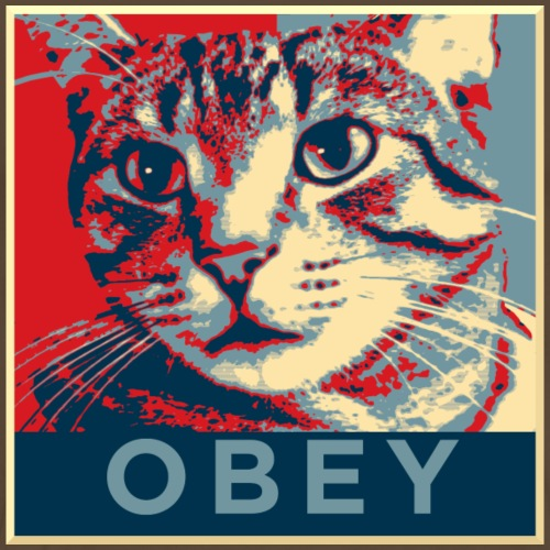 Obey the Cat! - Männer Premium T-Shirt
