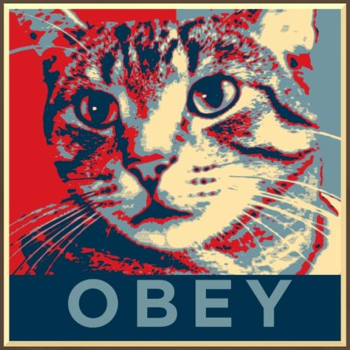 Obey the Cat! - Männer Premium T-Shirt