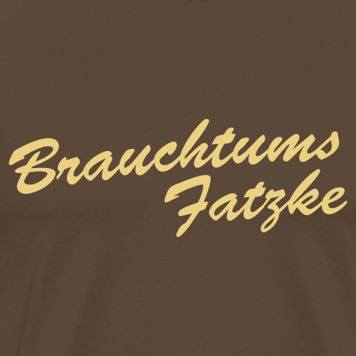 Brauchtumsfatzke - Männer Premium T-Shirt