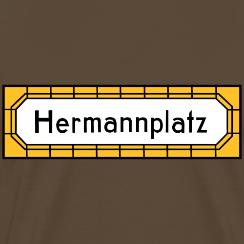 Hermannplatz NEUKÖLLN - Männer Premium T-Shirt