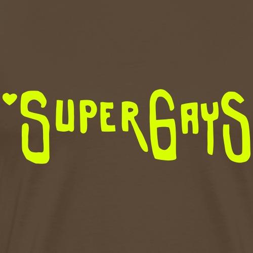 SuperGayS - Maglietta Premium da uomo