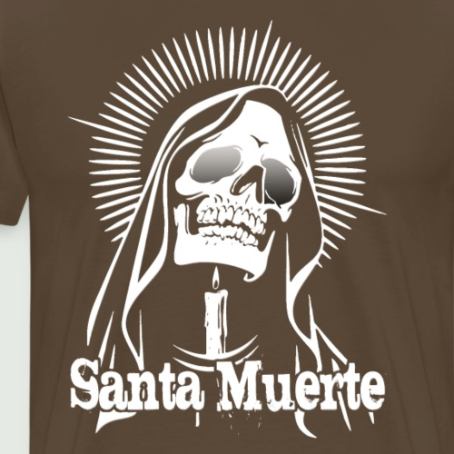 Santa Muerte - Männer Premium T-Shirt