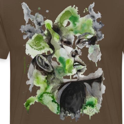 Kiss by carographic - Männer Premium T-Shirt