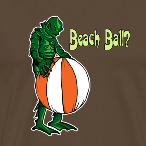 Cerature and beach ball - Men's Premium T-Shirt
