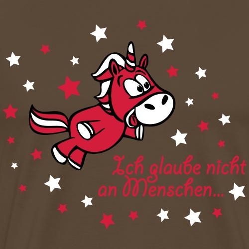 Comic_Menschenglaube_Pfad - Männer Premium T-Shirt