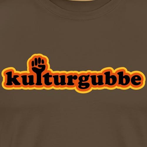 KULTURGUBBE - Premium-T-shirt herr