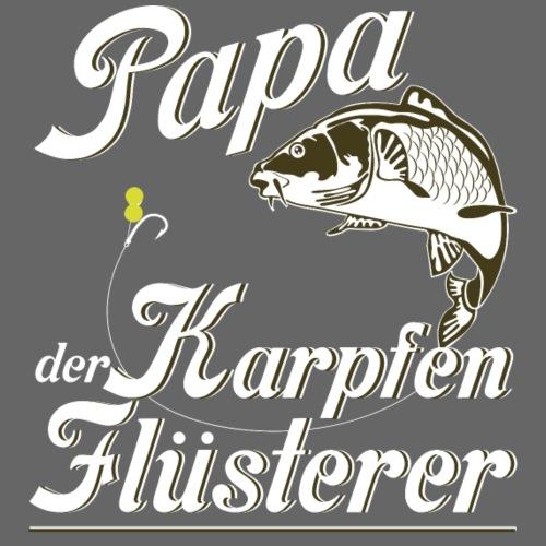 Papa der Karpfen Flüsterer - Männer Premium T-Shirt