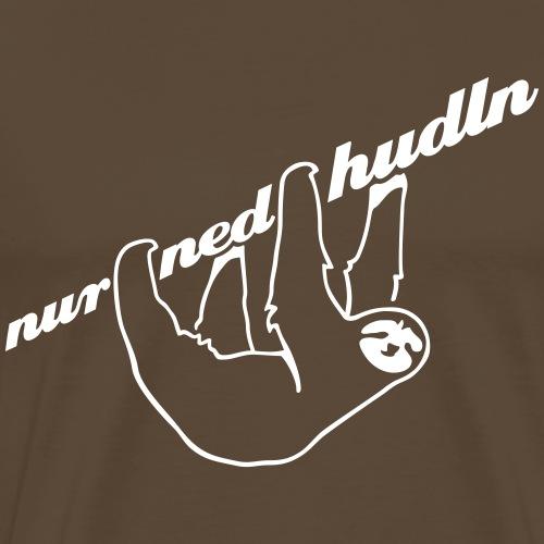 Faultier - weiß - Männer Premium T-Shirt