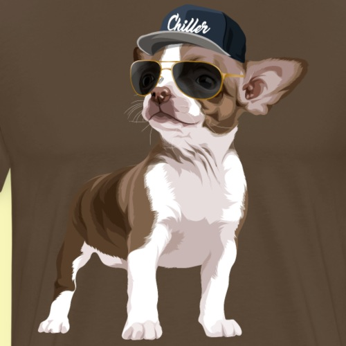 Chillerhuahua - Men's Premium T-Shirt