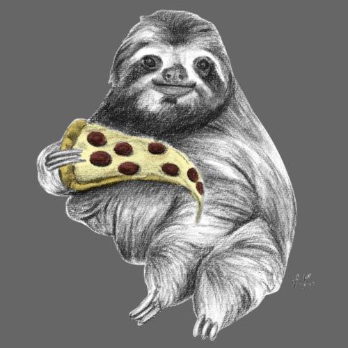 Slot Eating Pizza - Men's Premium T-Shirt