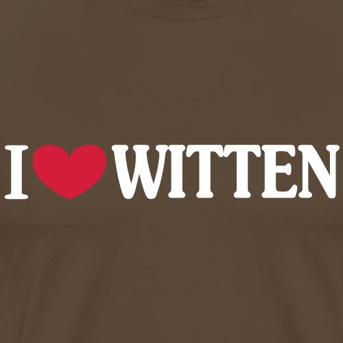 I love Witten - Männer Premium T-Shirt