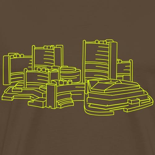 UNO-City Wien - Männer Premium T-Shirt