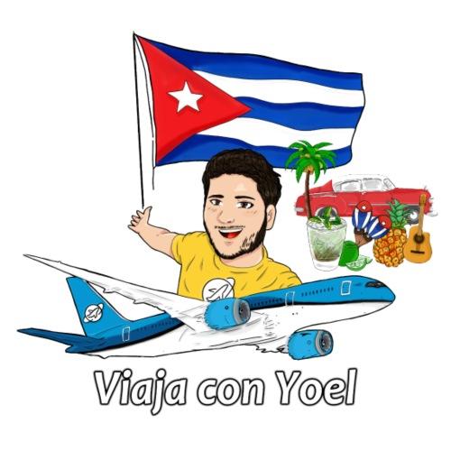 Cuba - Viaja con Yoel - Camiseta premium hombre