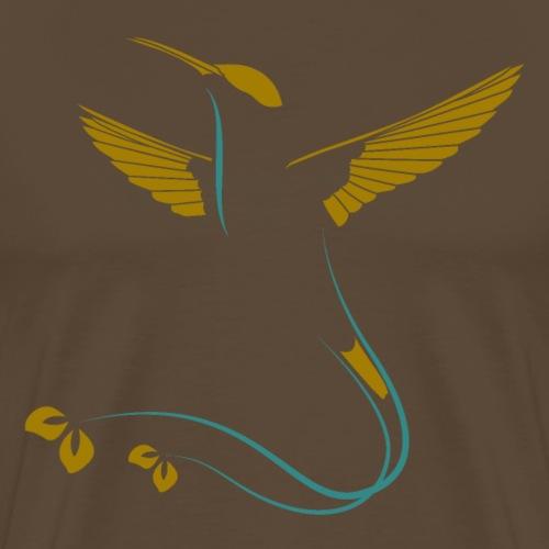 edler Kolibri - Männer Premium T-Shirt
