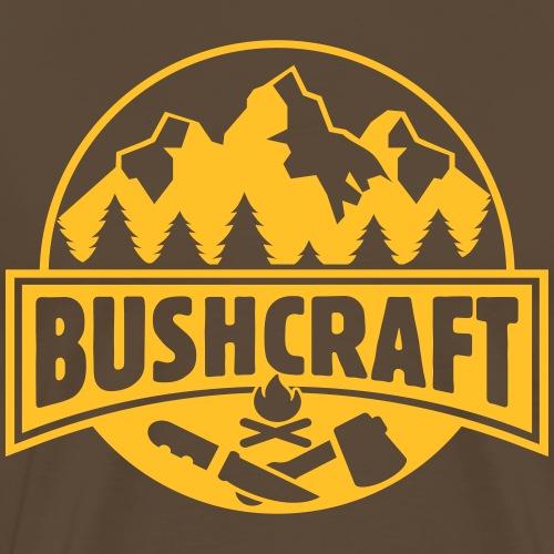 Bushcraft Survival Wildnis Wald Überleben Prepper - Männer Premium T-Shirt