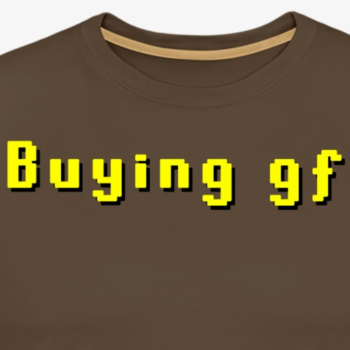 Kjøper gf - Premium T-skjorte for menn