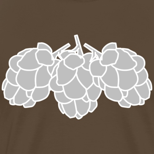 Polkadot Brewery - For The Hops - Premium-T-shirt herr