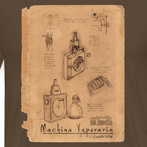 Machina Vaporaria - Männer Premium T-Shirt