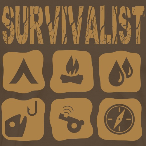 Survivalist - Männer Premium T-Shirt