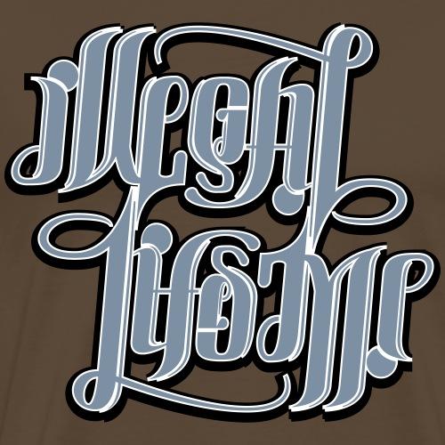 Illegal Lifestyle - Herre premium T-shirt