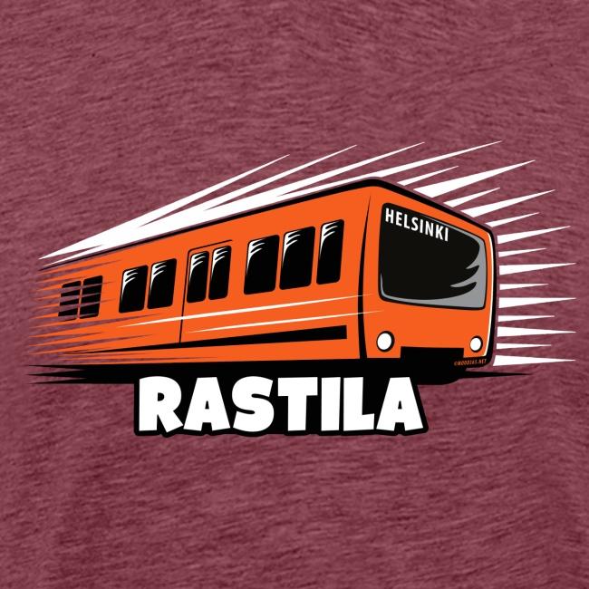 RASTILA Helsingin metro t-paidat, vaatteet, lahjat
