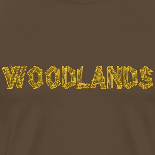 Woodlands - Men's Premium T-Shirt