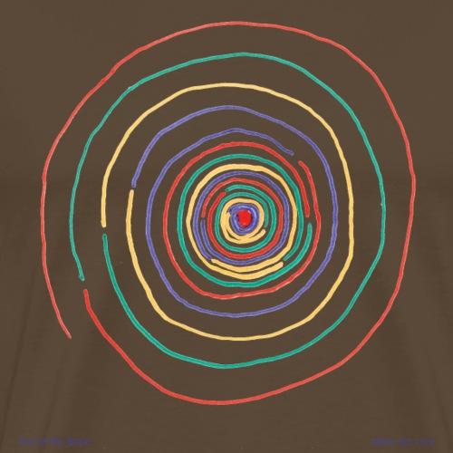 Out of My Brain tabla art - Men's Premium T-Shirt