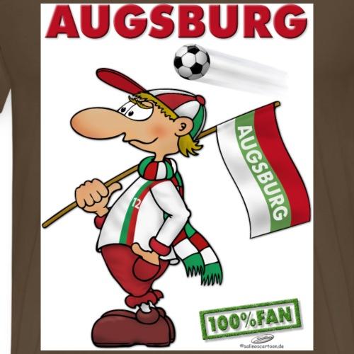 Fan Augsburg - Männer Premium T-Shirt