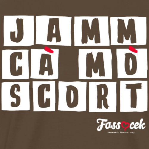 Jamm cà mò scort - Bianco - Maglietta Premium da uomo