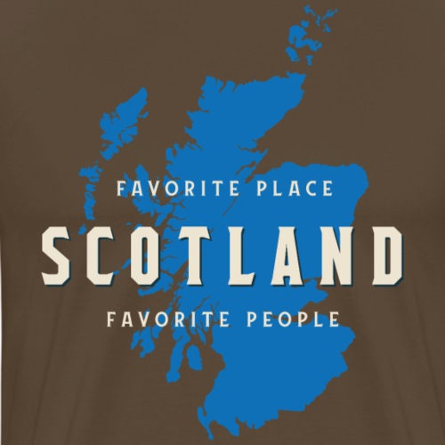 Scotland: Favorite Place, Favorite People - Männer Premium T-Shirt
