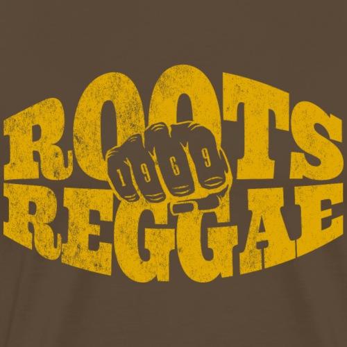 Roots Reggae 1969 - Männer Premium T-Shirt