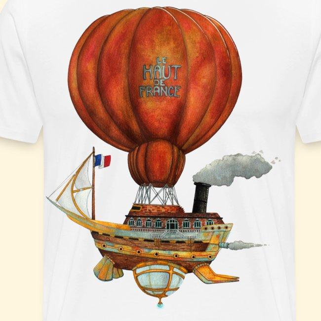 Le Haut-de-France - Bateau Steampunk Ch'ti