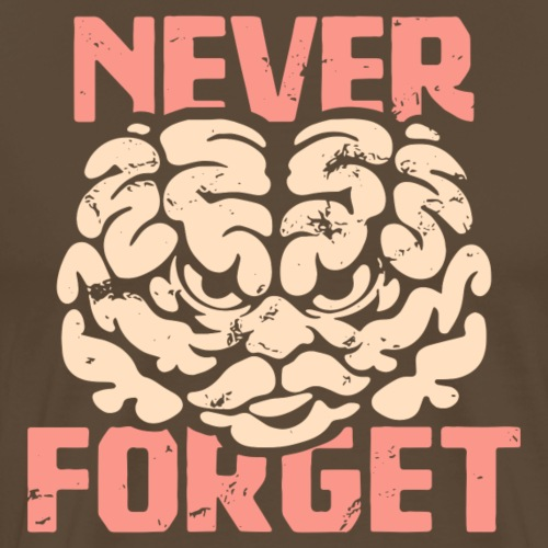 Never forget - Premium-T-shirt herr