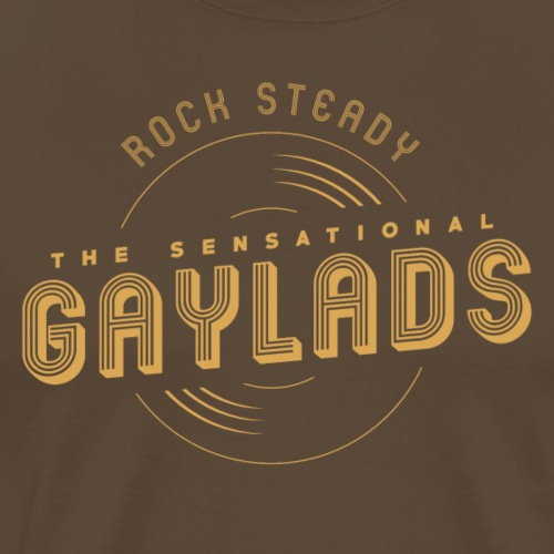 The sensational Gaylads | Rock Steady - Camiseta premium hombre