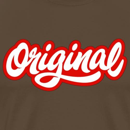 Original red - T-shirt Premium Homme