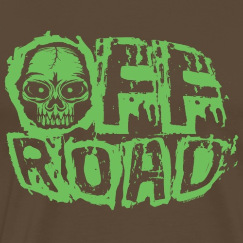 11A-13 OFF ROAD SKULL Textiles and gift products - Miesten premium t-paita