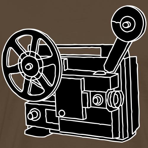 Filmprojektor SUPER 8 - Männer Premium T-Shirt