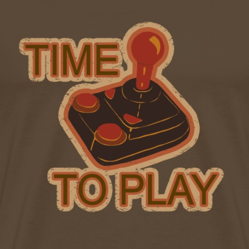 TIME TO PLAY - Men's Premium T-Shirt