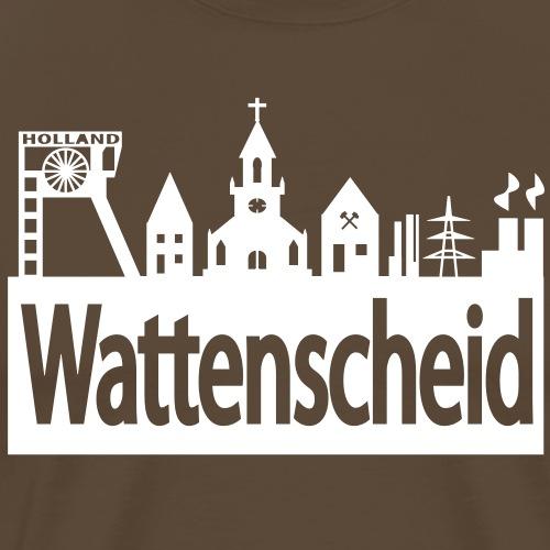 Skyline Wattenscheid - Männer Premium T-Shirt
