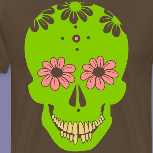 CandySkull - Mannen Premium T-shirt