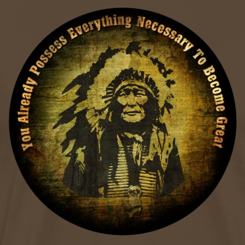you already possess everything necessary to become - Männer Premium T-Shirt