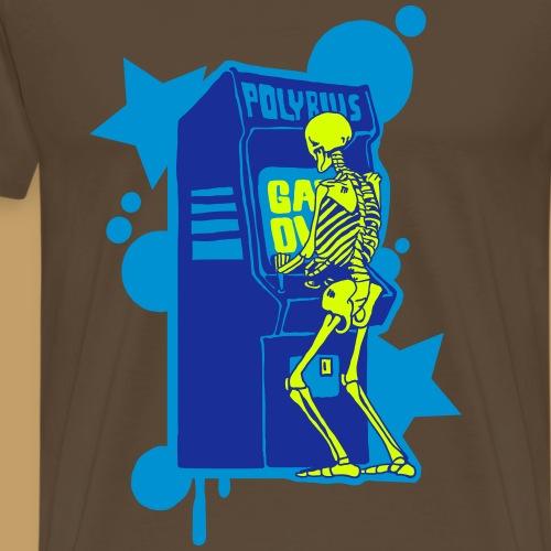 Hi-Score Blue - Koszulka męska Premium